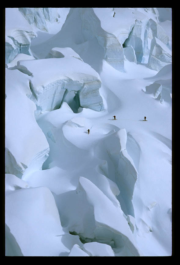 Wandering through the icefall