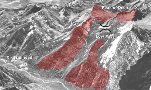 Identify (and avoid) dangerous avalanche terrain.
